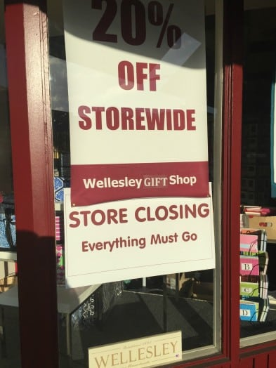 wellesley gift shop closing
