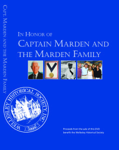 Captain Marden's DVD wellesley