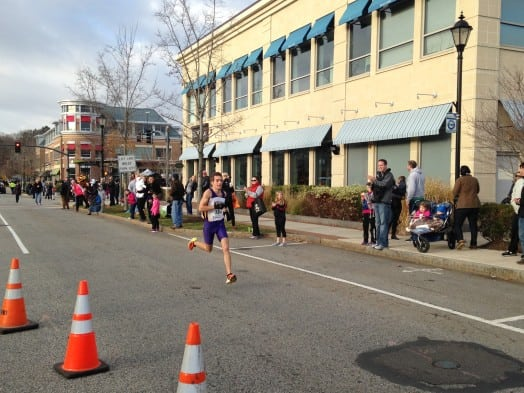 Bijan Mazaheri wins Wellesley Turkey Trot