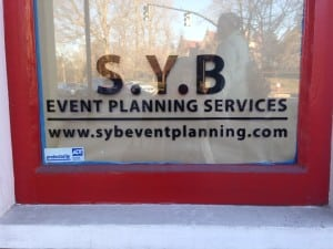 Wellesley SYB Event Planning Services