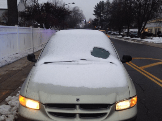 wellesley police car windshield