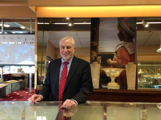Steve Varriale, owner of O'Neil Jewelers, Wellesley Square