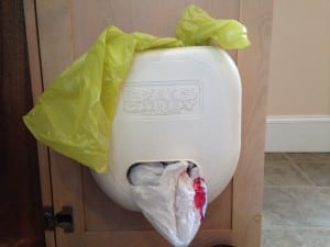 Plastic bag caddy, Wellesley