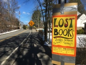 lost books on weston road in wellesley