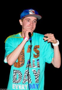 Wellesley's own Cam Meekins, rapper