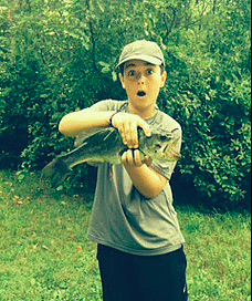 zeb Jacoby and fish
