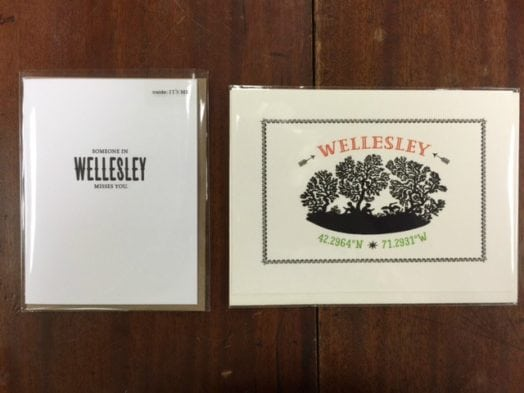 Wellesley Books greeting cards