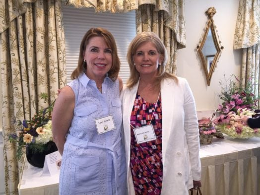 Lucy Lynch, past pres and Marylynn Smith, member. May 10, 2016
