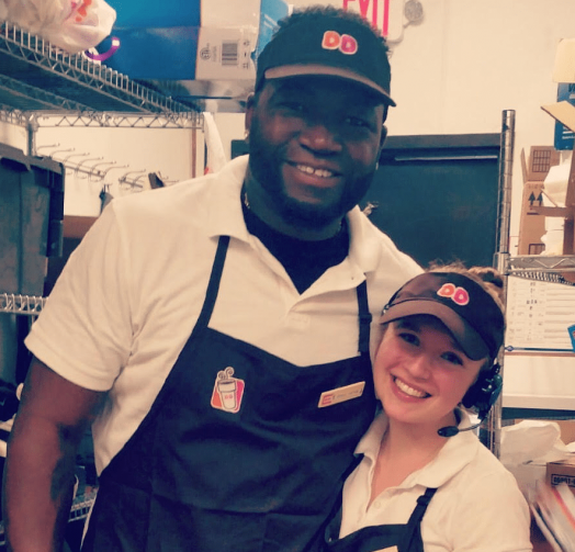 david ortiz at DD