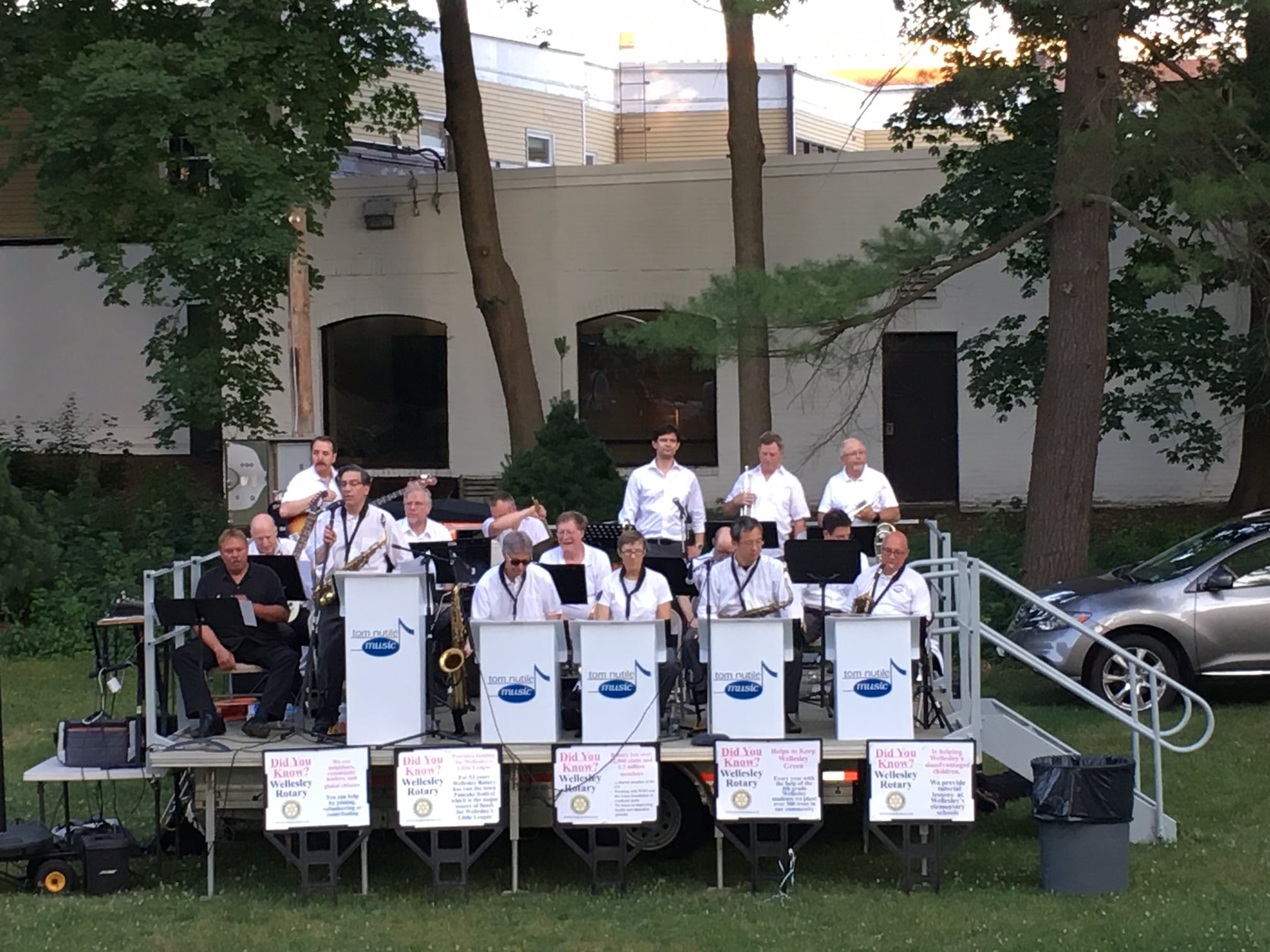 Tom Nutile's Big Band, Summer 2016