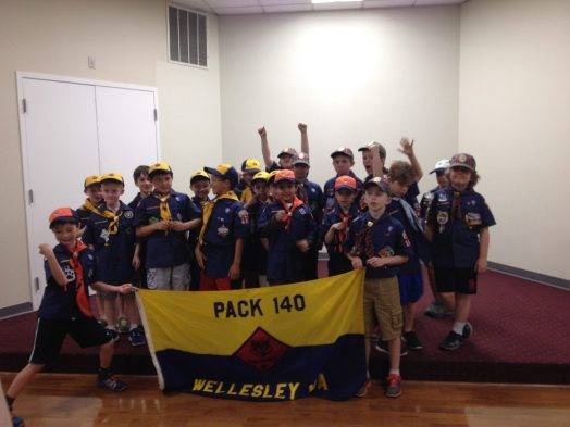 Wellesley cub/boy scouts