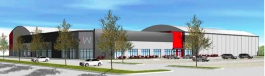 Wellesley Sports Center depiction, via Edge Sports Group