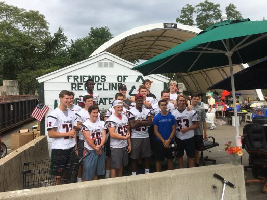 Wellesley High football at RDF