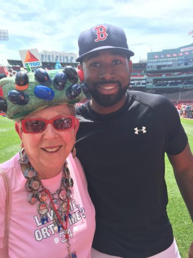 Lynne Smith, Fenway Hat Lady, Wellesley