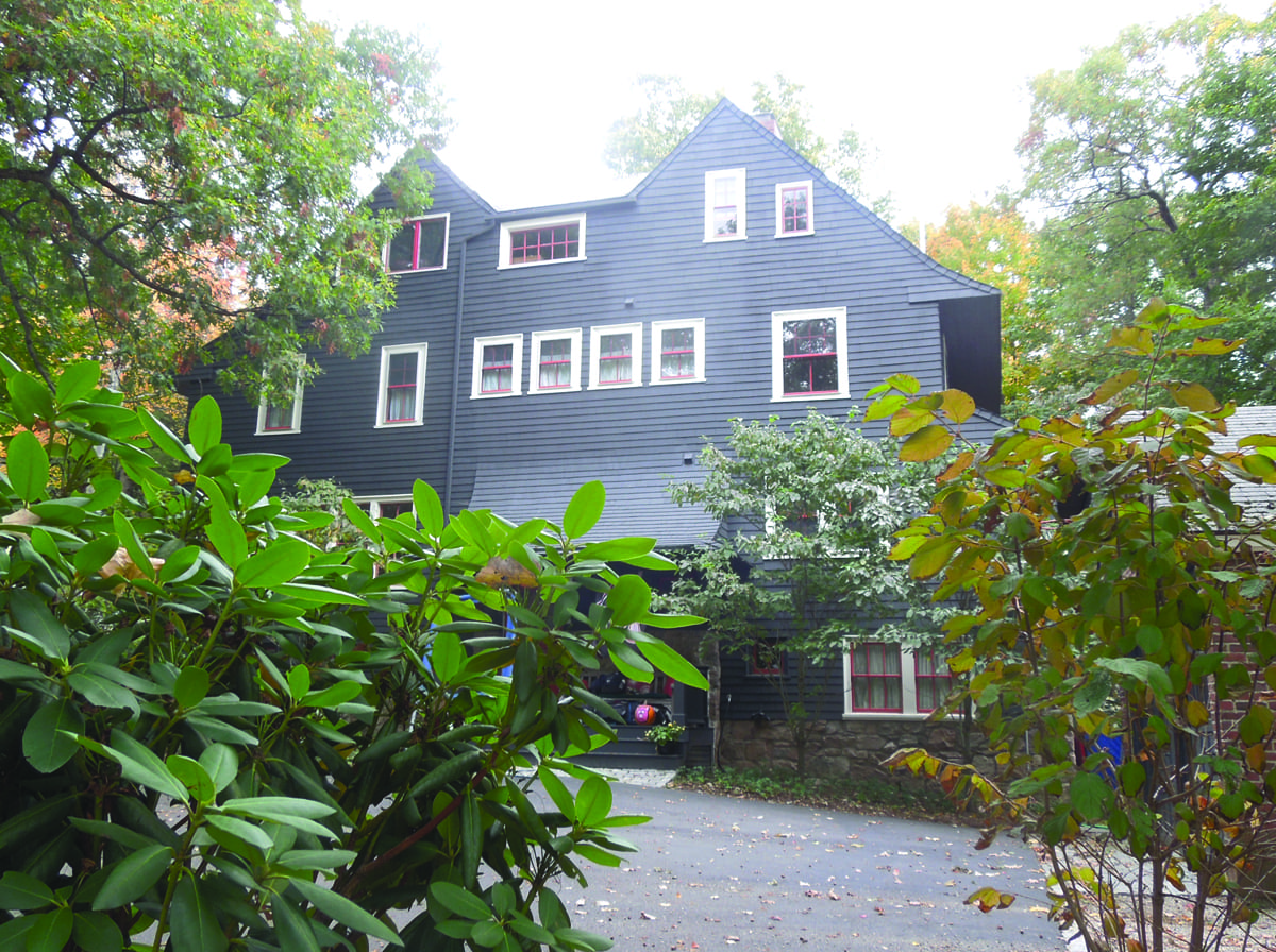 The Scarab, former Katharine Lee Bates house at 70 Curve St. in Wellesley