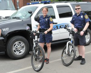 Wellesley Police bike rodeo