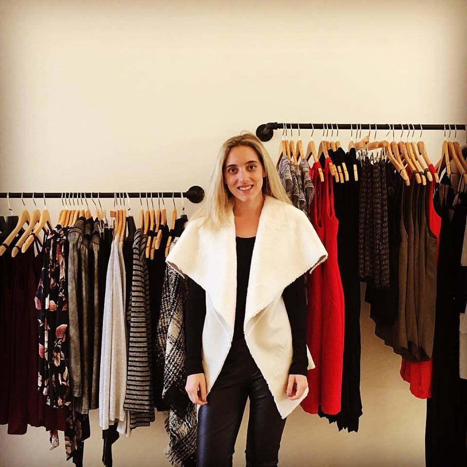Kate Phelan, owner of Alba Boutique, Wellesley