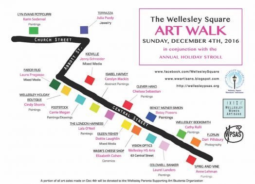 wellesley art walk