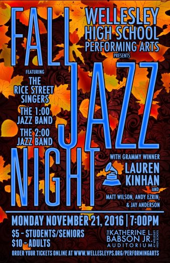 whs fall jazz night