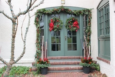 2015 Grand Prize winner of the Wellesley Gardener' Guild Deck the Halls Raffle. Work done by NatureWorks Landscaping.