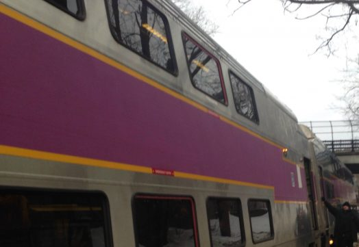 commuter rail train