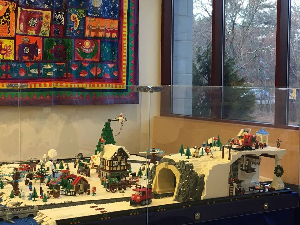 Wellesley LEGO Winter Village