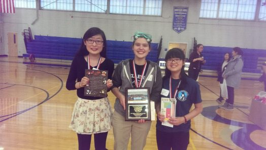 Wellesley High at Women of Science competition