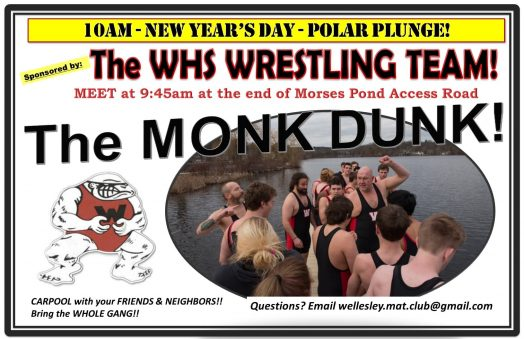 monk dunk wellesley wrestlers