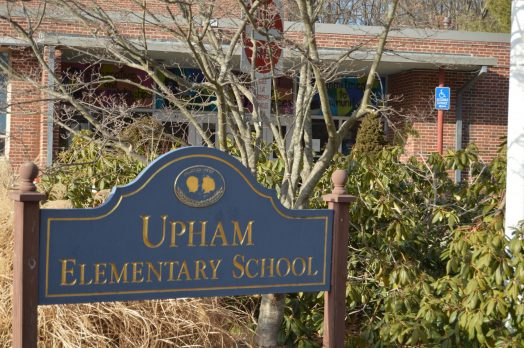 Upham Elementary School in Wellesley