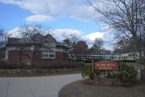 Hunnewell Elementary School in Wellesley