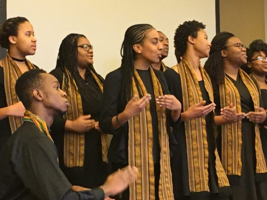 Harvard College Kuumba Singers at World of Wellesley MLK Jr. Breakfas