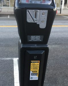 wellesley parking meter