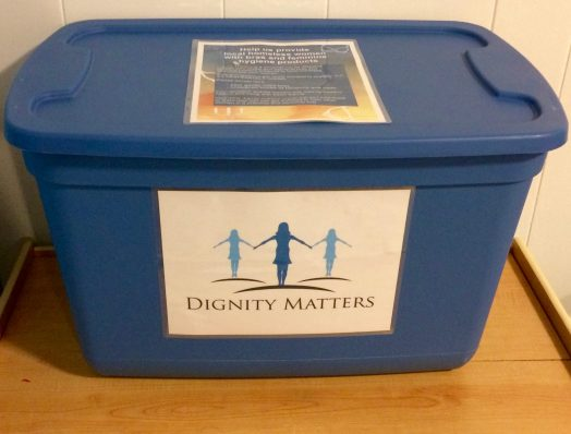 dignity matters drop box