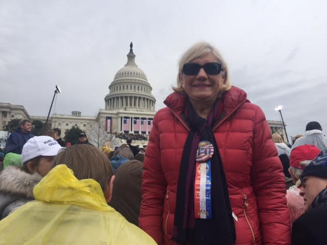 Wellesley resident at Inauguration
