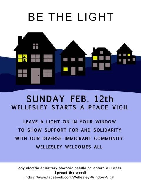Be The Light _Wellesley Peace Vigil