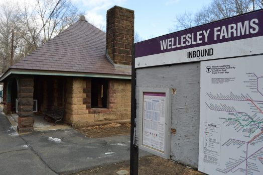 Wellesley Farms train station National Register of Historic Places