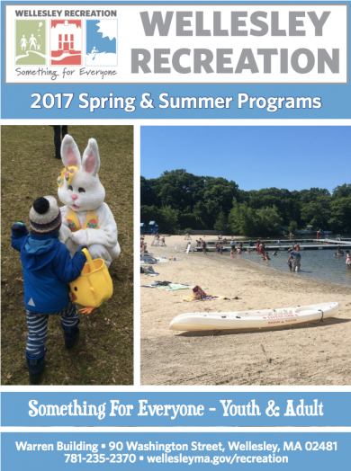 Wellesley Rec brochure