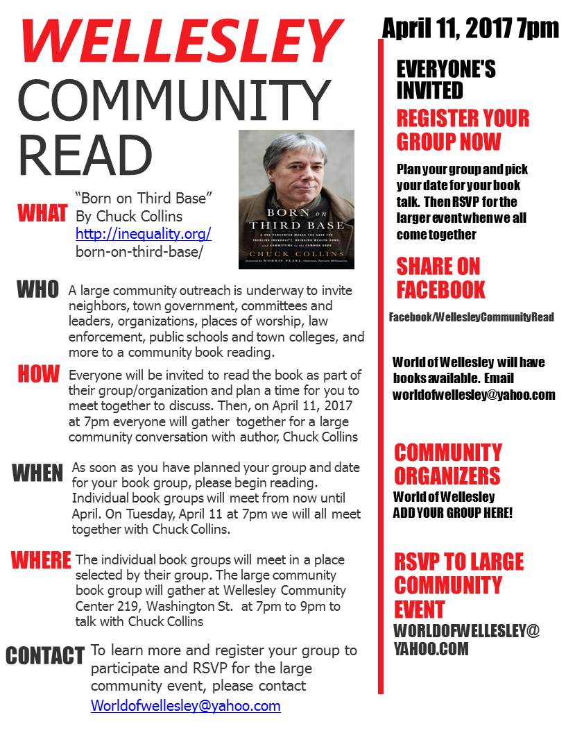 Wellesley Community Read