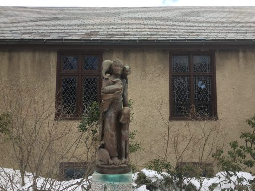 Animal Lover (Merrilyn D. Marsh) at Cloister Garden at St. Andrew's Episcopal Church