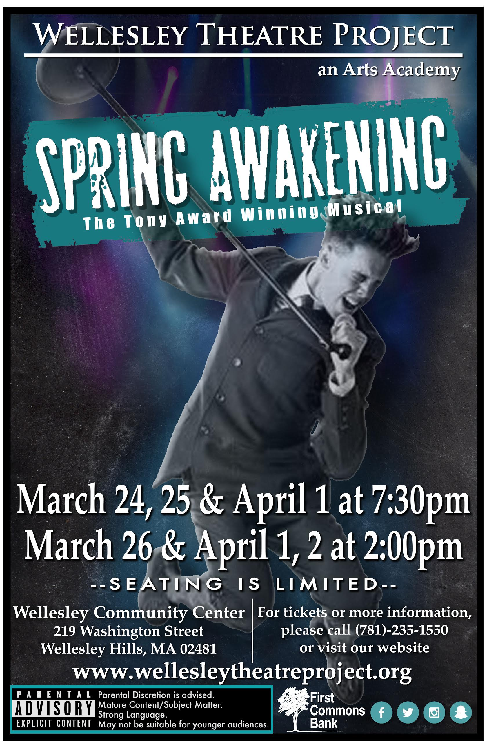 Spring Awakening, Wellesley Theatre Project