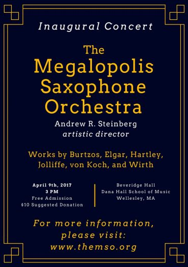 Steinberg - MSO Flyer Wellesley
