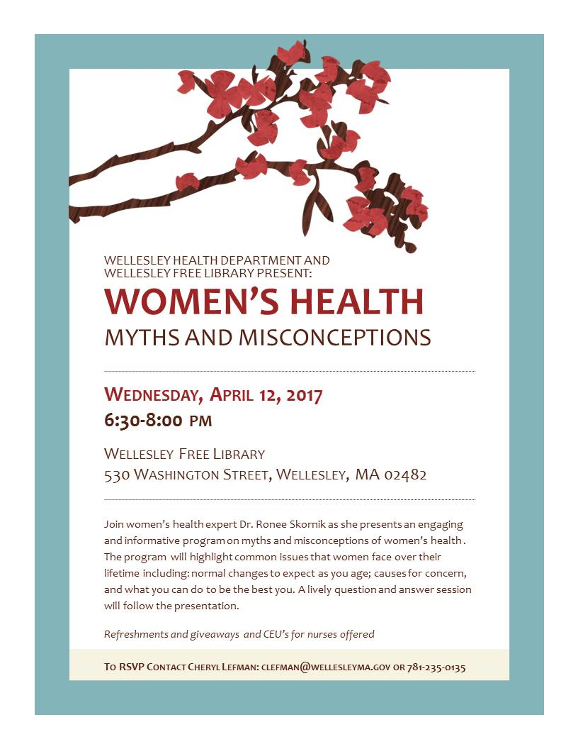 Women's Health Myths and Misconceptions, Wellesley