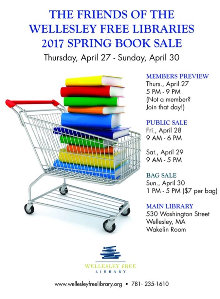 Wellesley Library Book Sale