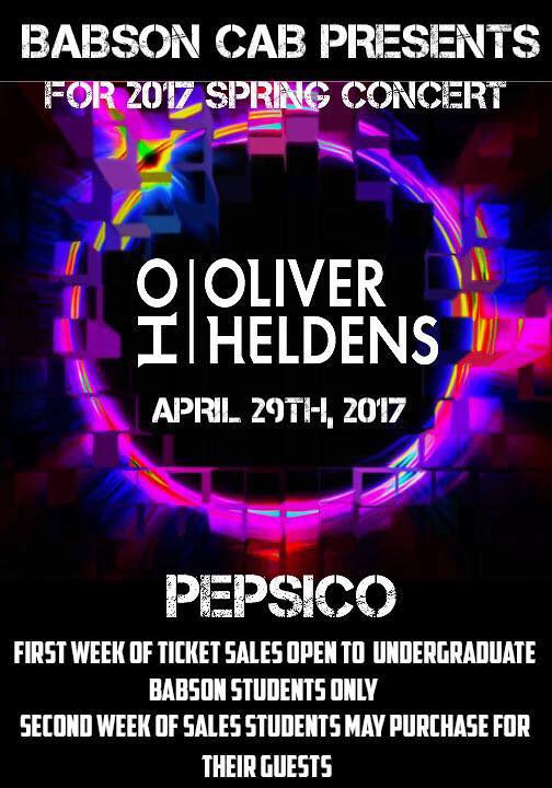 Oliver Heldens at Babson in Wellesley