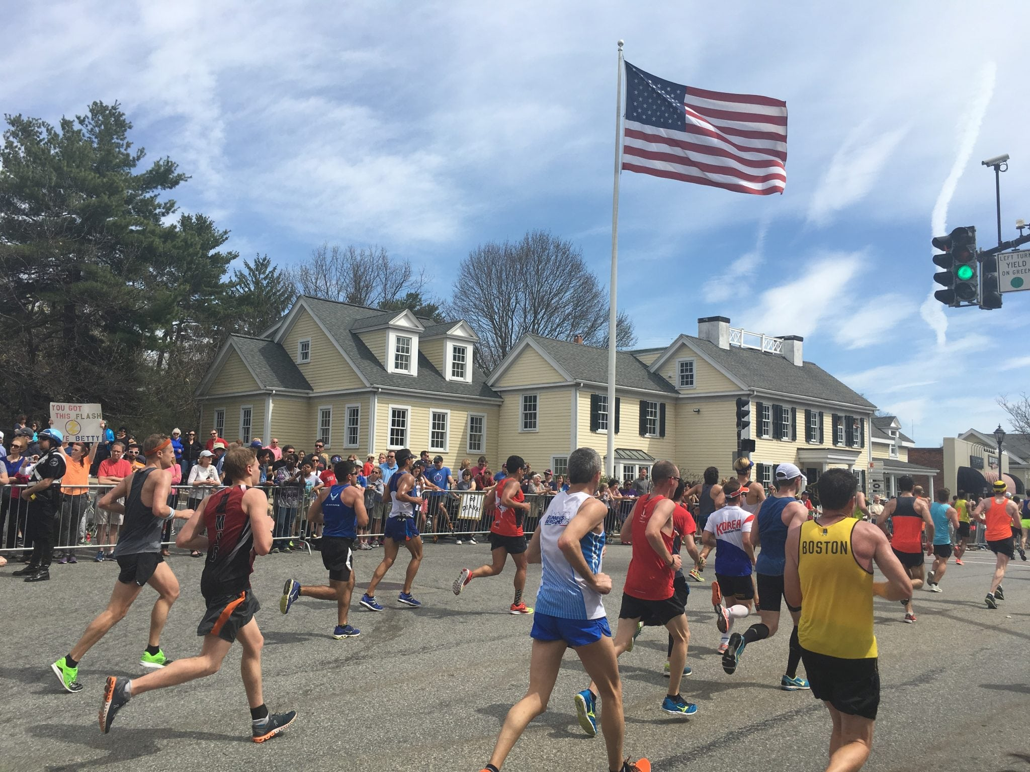 Boston Marathon, Wellesley 2017