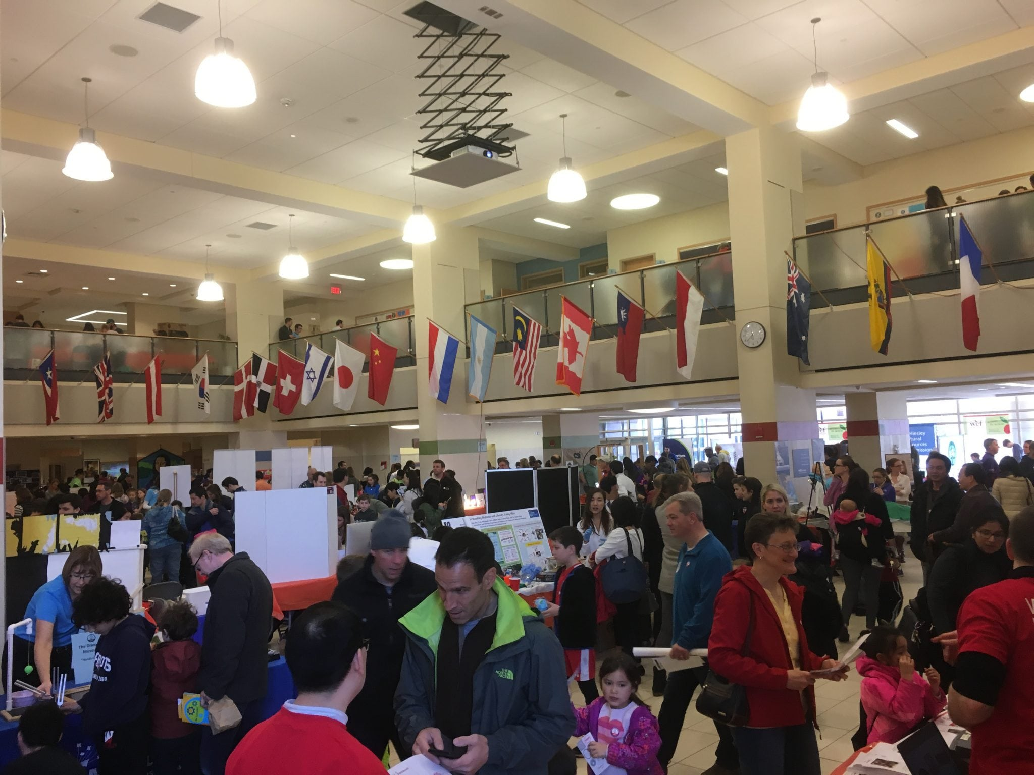 Wellesley STEM Expo, Wellesley High