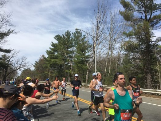 Boston Marathon 2017 Wellesley