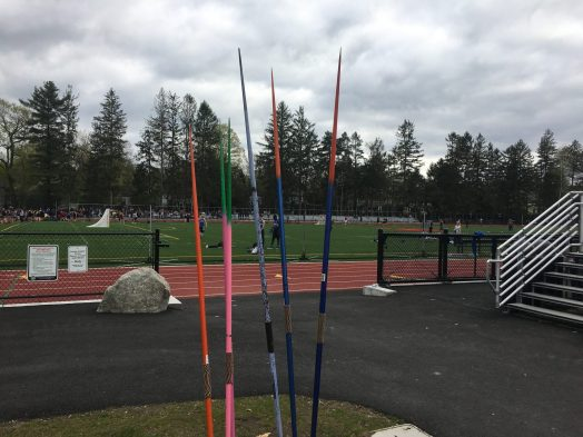 javelins, Wellesley High Track