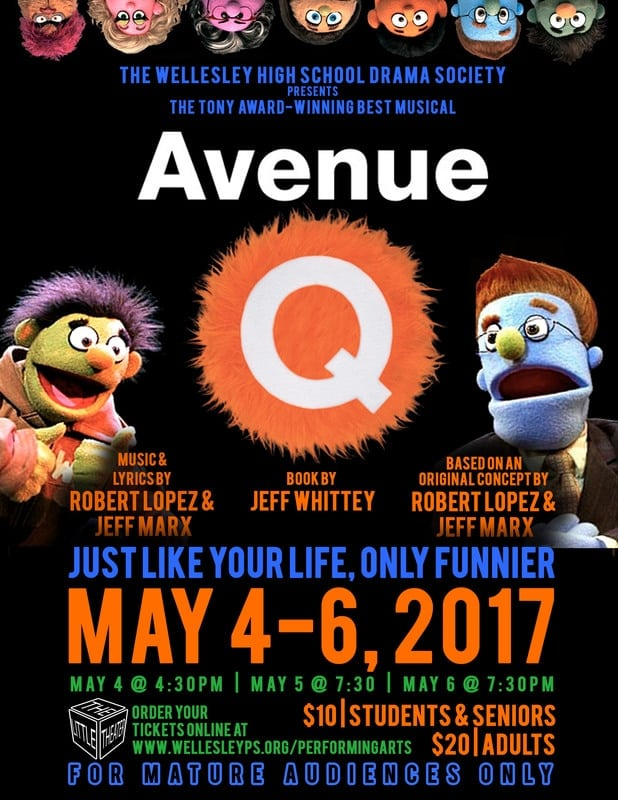 Wellesley, Avenue Q