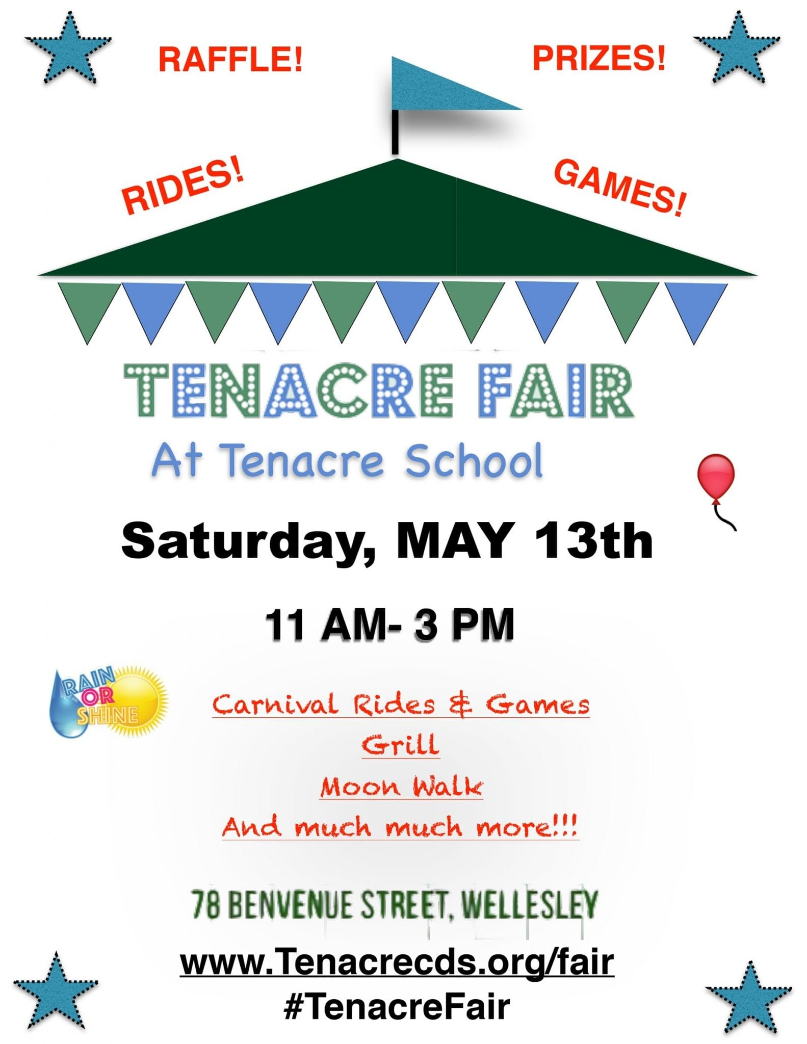 Tenacre Fair Wellesley